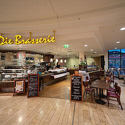 Brasserie Einkaufen Mitten In Leverkusen